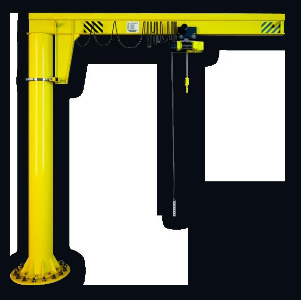 Кран консольный на колонне ККР3 грузоподъемностью 5,0 тонн