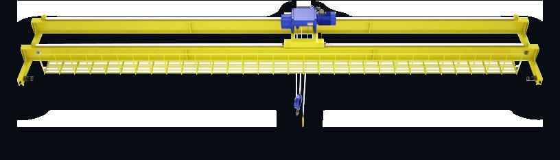 Кран мостовой опорный двухбалочный грузоподъемностью 100,0 тонн