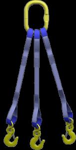 Строп текстильный трехветвевой 3СТ