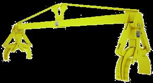 Траверса линейная для подъема труб и цилиндрических грузов
