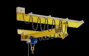 Подкрановые пути подвесных кранов