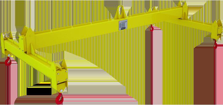 Траверса Н-образная с переставными обоймами разборная ТНЦпр