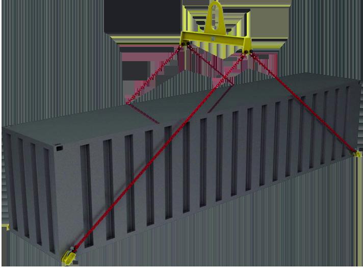 Траверсы для контейнеров линейные
