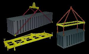 Траверсы для контейнеров