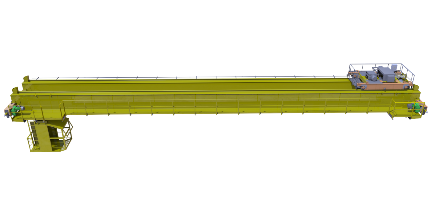 Кран мостовой опорный двухбалочный