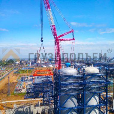 Траверса г/п 400,0 тонн в эксплуатации