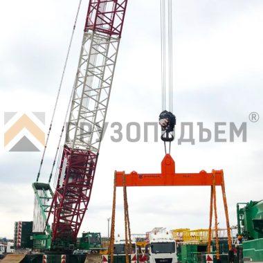 Траверса линейная за центр ТЛЦ г/п 55,0 тонн 4