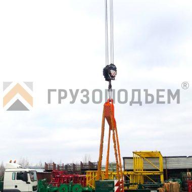 Траверса линейная за центр ТЛЦ г/п 55,0 тонн 3