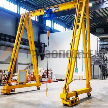 Мобильная крановая установка электрическая МКУ-Э-3,2-4000-4000