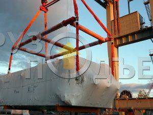 Изготовление разборной траверсы ТСКр грузоподъемностью 200 тн