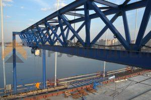 Крановое оборудование для проекта строительства ЗСД (г. Санкт-Петербург)