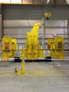 Изготовление Н-образной траверсы грузоподъемностью 102 тонны