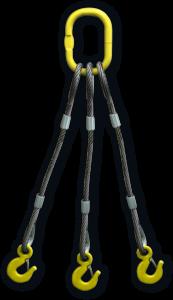 Строп канатный трехветвевой 3СК