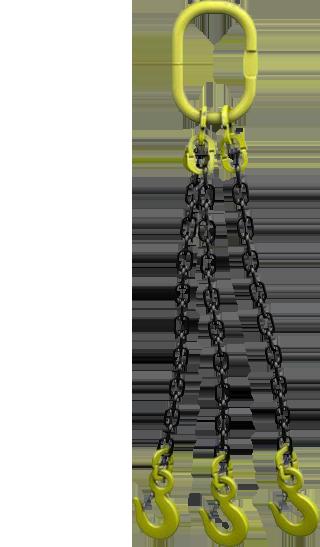 Стропы цепные трехветвевые 3СЦ