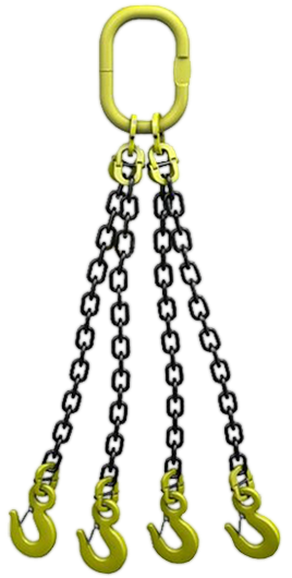 Стропы цепные четырехветвевые 4СЦ