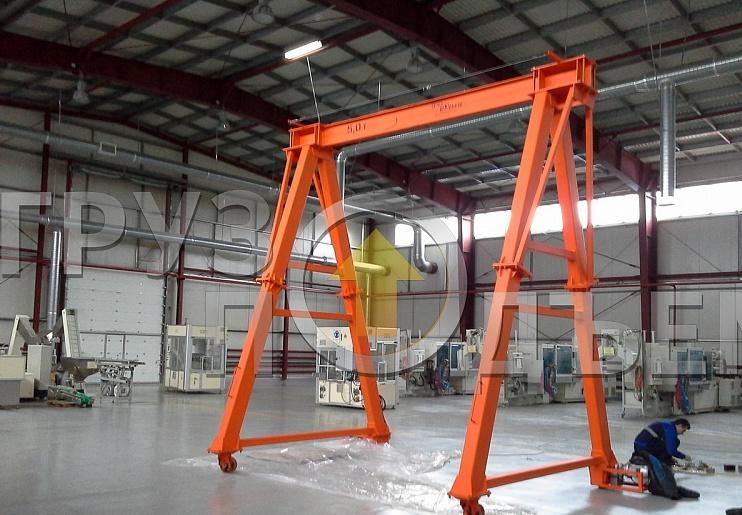 Мобильная крановая установка МКУ без телескопирования с электроприводом