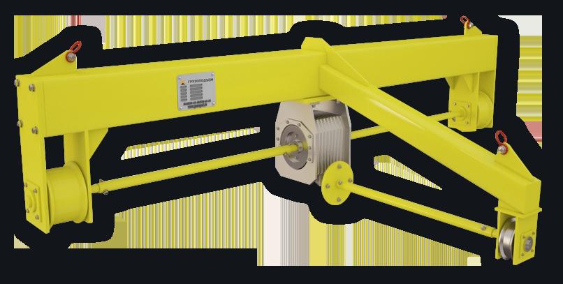 Кантователь промышленный подвесной с ручным приводом и редуктором