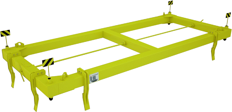 Траверса для контейнеров полуавтоматическая ТрК2