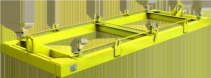 Траверса для контейнеров полуавтоматическая ТрК4